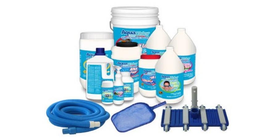 qu productos se utilizan para limpiar una piscina lajeado